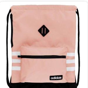 Adidas Pink String Bag